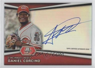 2012 Bowman Platinum Autographed Prospects #AP-DC - Daniel Corcino