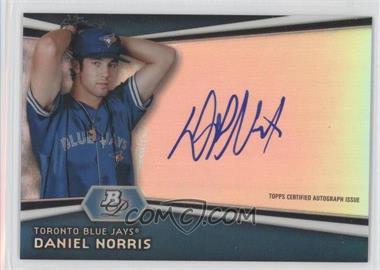2012 Bowman Platinum Autographed Prospects #AP-DN - Daniel Norris