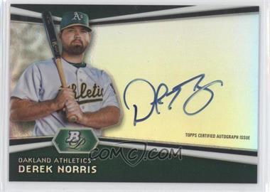 2012 Bowman Platinum Autographed Prospects #AP-DNO - Derek Norris