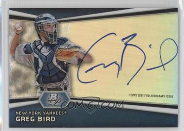 2012 Bowman Platinum Autographed Prospects #AP-GB - Greg Bird