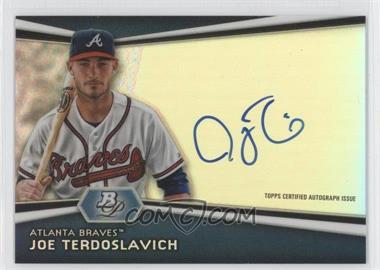 2012 Bowman Platinum Autographed Prospects #AP-JT - Joey Terdoslavich