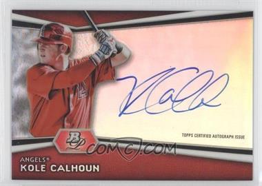 2012 Bowman Platinum Autographed Prospects #AP-KC - Kole Calhoun
