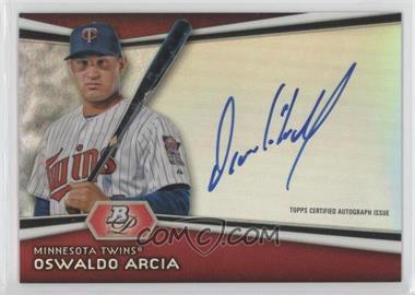 2012 Bowman Platinum Autographed Prospects #AP-OA - Oswaldo Arcia