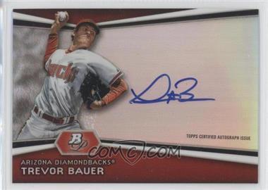 2012 Bowman Platinum Autographed Prospects #AP-TB - Trevor Bauer