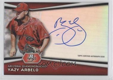 2012 Bowman Platinum Autographed Prospects #AP-YA - Yazy Arbelo