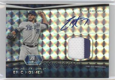 2012 Bowman Platinum Autographed Relic Atomic Refractor Patch #AR-EH - Eric Hosmer /5