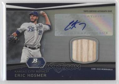 2012 Bowman Platinum Autographed Relic [Autographed] #AR-EH - Eric Hosmer