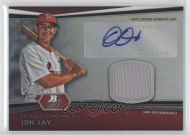 2012 Bowman Platinum Autographed Relic [Autographed] #AR-JJ - Jon Jay