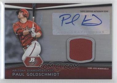 2012 Bowman Platinum Autographed Relic [Autographed] #AR-PG - Paul Goldschmidt