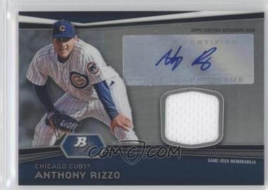 2012 Bowman Platinum Autographed Relic #AR-AR - Anthony Rizzo