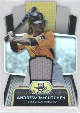 2012 Bowman Platinum Cutting Edge Stars Die-Cut Relics #CES-AM - Andrew McCutchen /50