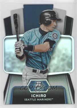 2012 Bowman Platinum Cutting Edge Stars Die-Cut #CES-1 - Ichiro Suzuki