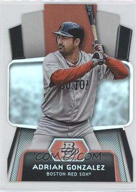 2012 Bowman Platinum Cutting Edge Stars Die-Cut #CES-AG - Adrian Gonzalez