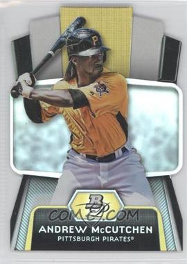 2012 Bowman Platinum Cutting Edge Stars Die-Cut #CES-AM - Andrew McCutchen