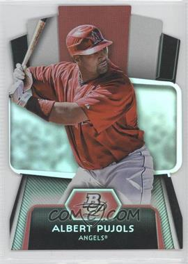 2012 Bowman Platinum Cutting Edge Stars Die-Cut #CES-AP - Albert Pujols