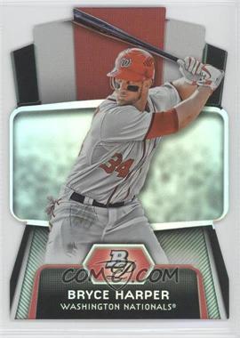 2012 Bowman Platinum Cutting Edge Stars Die-Cut #CES-BH - Bryce Harper