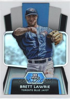 2012 Bowman Platinum Cutting Edge Stars Die-Cut #CES-BL - Brett Lawrie