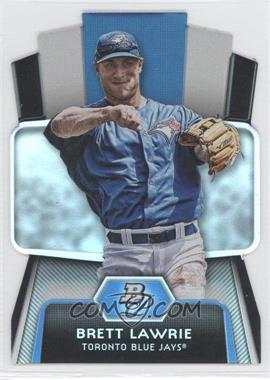 2012 Bowman Platinum Cutting Edge Stars Die-Cut #CES-BL - Brett Lawrie