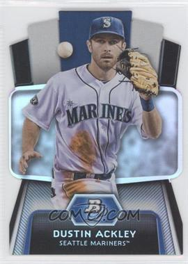 2012 Bowman Platinum Cutting Edge Stars Die-Cut #CES-DA - Dustin Ackley