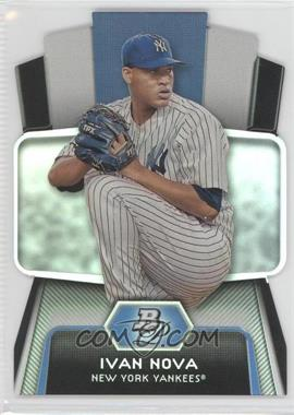 2012 Bowman Platinum Cutting Edge Stars Die-Cut #CES-IN - Ivan Nova