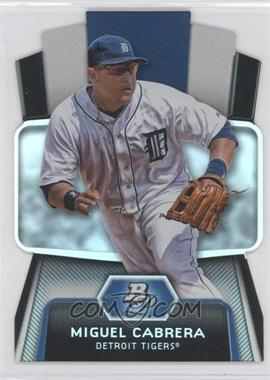 2012 Bowman Platinum Cutting Edge Stars Die-Cut #CES-MC - Miguel Cabrera