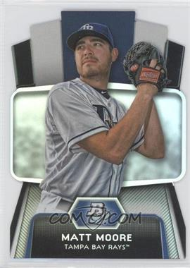 2012 Bowman Platinum Cutting Edge Stars Die-Cut #CES-MM - Matt Moore
