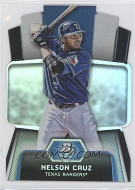 2012 Bowman Platinum Cutting Edge Stars Die-Cut #CES-NC - Nelson Cruz