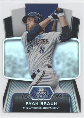 2012 Bowman Platinum Cutting Edge Stars Die-Cut #CES-RB - Ryan Braun