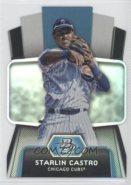 2012 Bowman Platinum Cutting Edge Stars Die-Cut #CES-SC - Starlin Castro