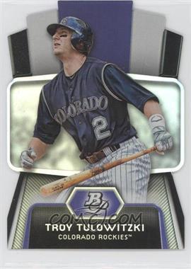 2012 Bowman Platinum Cutting Edge Stars Die-Cut #CES-TT - Troy Tulowitzki