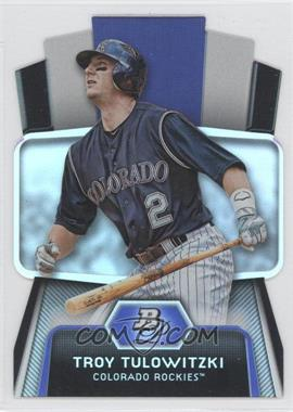2012 Bowman Platinum Cutting Edge Stars Die-Cut #CES-TT - Troy Tulowitzki