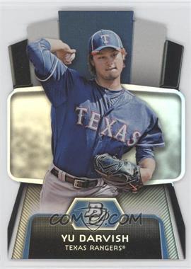 2012 Bowman Platinum Cutting Edge Stars Die-Cut #CES-YD - Yu Darvish