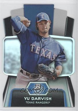 2012 Bowman Platinum Cutting Edge Stars Die-Cut #CES-YD - Yu Darvish