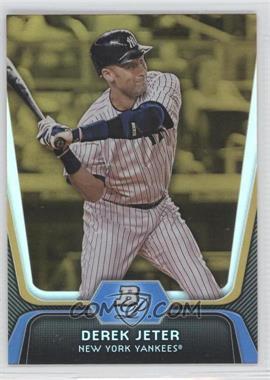 2012 Bowman Platinum Gold #14 - Derek Jeter