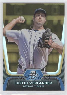 2012 Bowman Platinum Gold #37 - Justin Verlander
