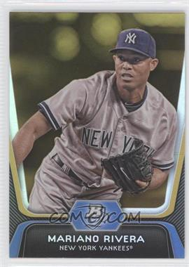 2012 Bowman Platinum Gold #45 - Mariano Rivera