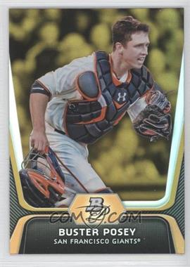 2012 Bowman Platinum Gold #57 - Buster Posey