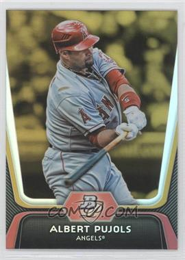 2012 Bowman Platinum Gold #68 - Albert Pujols