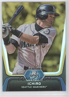 2012 Bowman Platinum Gold #8 - Ichiro Suzuki
