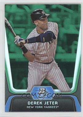 2012 Bowman Platinum Green #14 - Derek Jeter