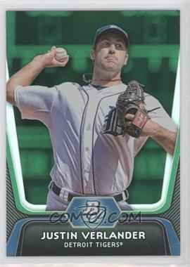 2012 Bowman Platinum Green #37 - Justin Verlander