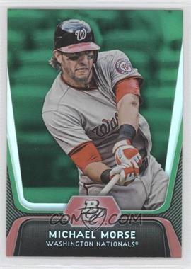 2012 Bowman Platinum Green #66 - Mike Morse