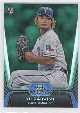 2012 Bowman Platinum Green #9 - Yu Darvish