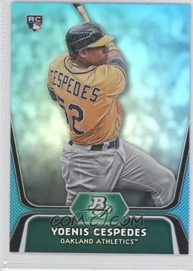 2012 Bowman Platinum National Convention Wrapper Redemption [Base] Platinum Blue #21 - Yoenis Cespedes /499