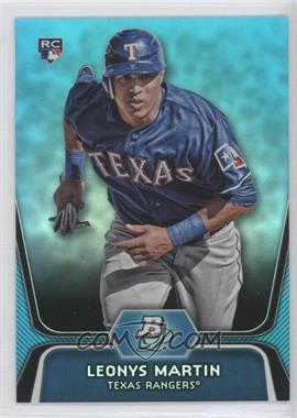 2012 Bowman Platinum National Convention Wrapper Redemption [Base] Platinum Blue #44 - Leonys Martin /499