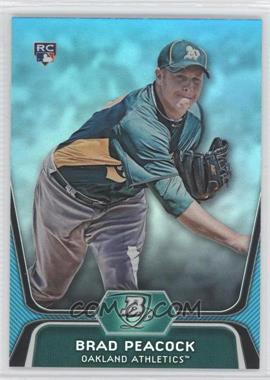 2012 Bowman Platinum National Convention Wrapper Redemption [Base] Platinum Blue #60 - Brad Peacock /499