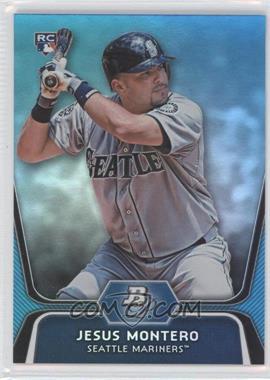2012 Bowman Platinum National Convention Wrapper Redemption [Base] Platinum Blue #65 - Jesus Montero /499
