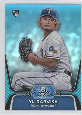 2012 Bowman Platinum National Convention Wrapper Redemption [Base] Platinum Blue #9 - Yu Darvish /499