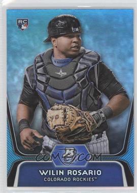 2012 Bowman Platinum National Convention Wrapper Redemption [Base] Platinum Blue #92 - Wilin Rosario /499