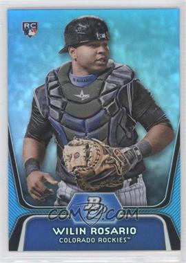 2012 Bowman Platinum National Convention Wrapper Redemption [Base] Platinum Blue #92 - Wilin Rosario /499